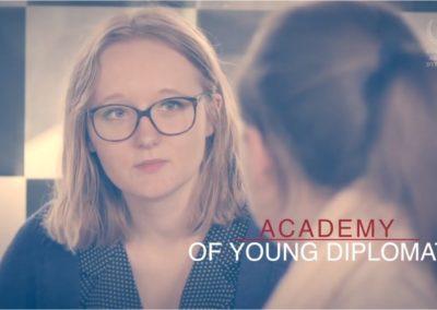 Europejska Akademia Dyplomacji – Film promocyjny, Warszawa, 2017